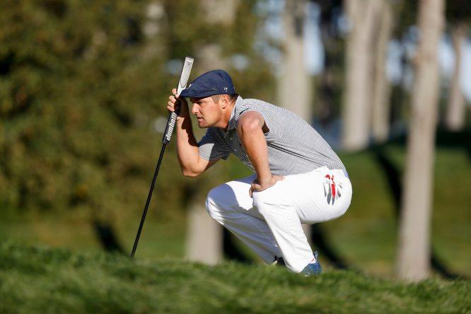 Bryson DeChambeau en la jornada final del US Open 2020. © USGA via Golffile