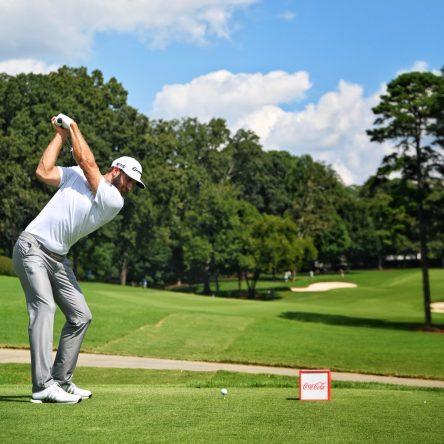 Dustin Johnson, en la segunda ronda del TOUR Championship © PGA Tour