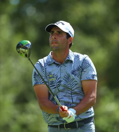 Adrián Otaegui en la ronda final en Valderrama. © Golffile | Oisín Keniry