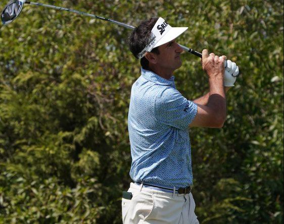 Gonzalo Fernández Castaño en la segunda jornada del Portugal Masters. © Golffile | Phil Inglis