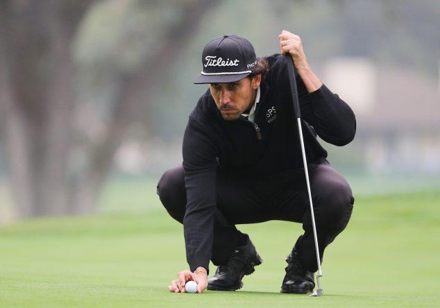 Rafa Cabrera Bello durante la primera ronda del Safeway Open. © Golffile | Scott Halleran