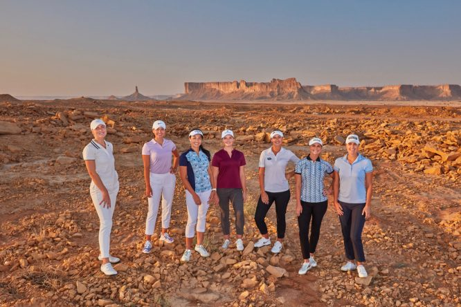 Jugadoras del LET, en Jeddah © Ladies European Tour