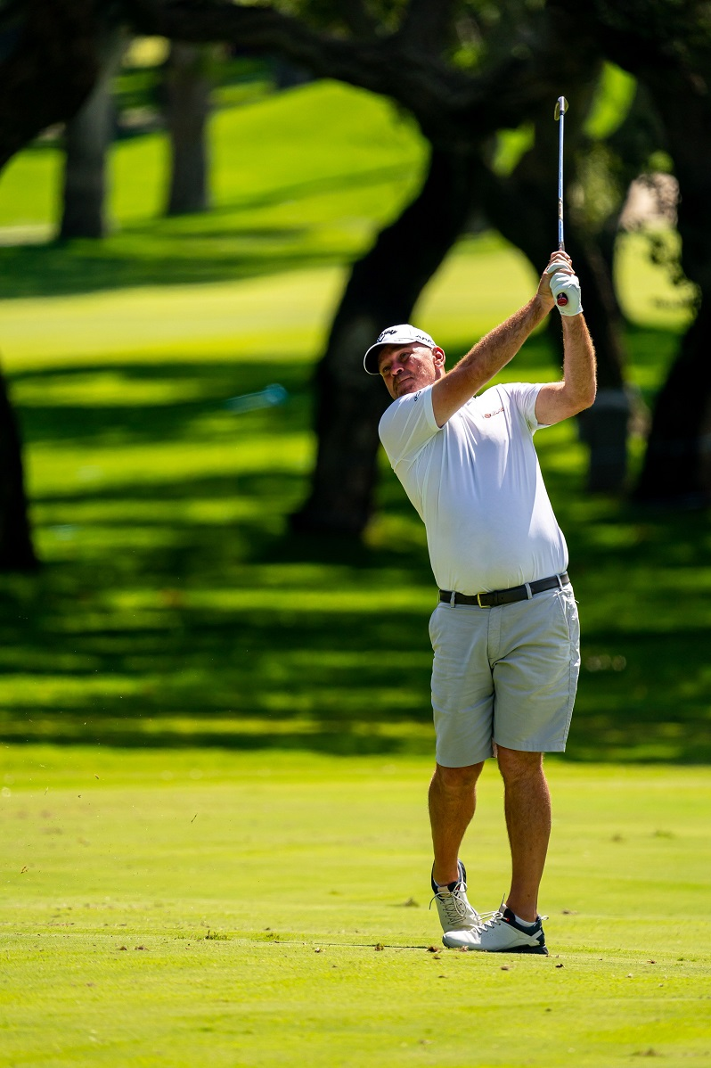 Thomas Bjørn, in a practice round at the Real Club Valderrama. © Real Club Valderrama