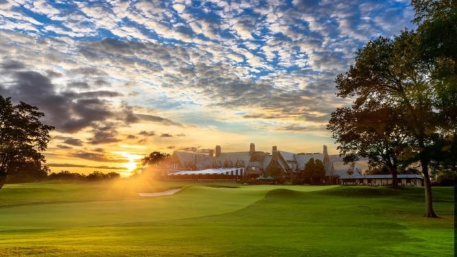 Vista del hoyo 18 de Winged Foot Golf Club. © US Open