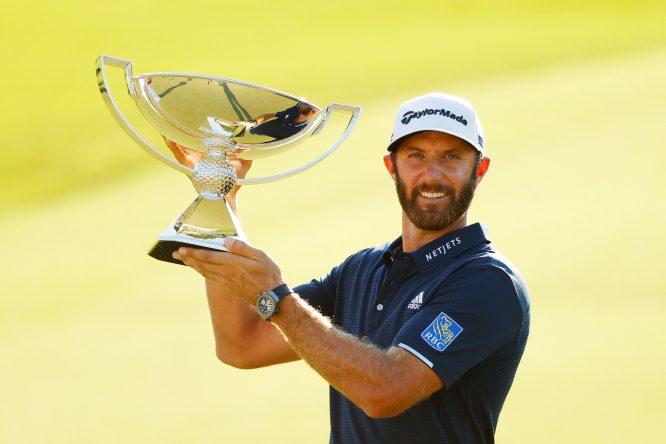 Dustin Johnson, ganador de la FedEx Cup 2020 © PGA Tour