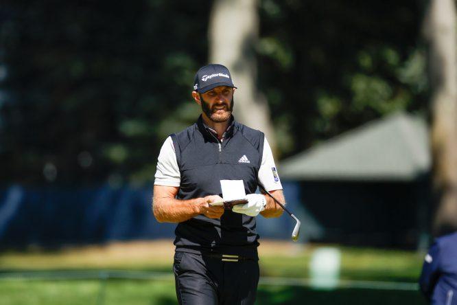 Dustin Johnson, en el US Open 2020 © Jeff Haynes/USGA