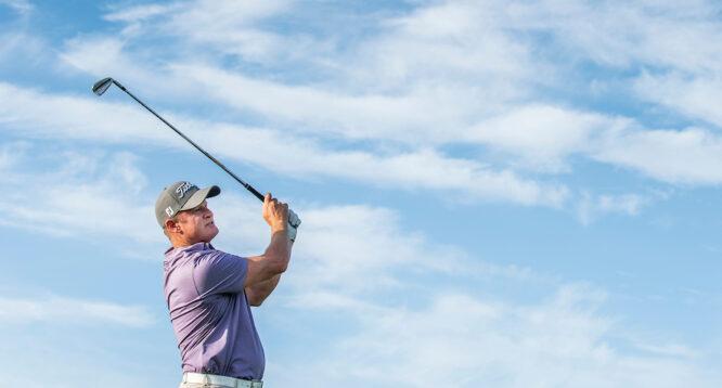 Jamie Donaldson en la segunda ronda del Aphrodite Hills Cyprus Open. © Golffile   Oisín Keniry