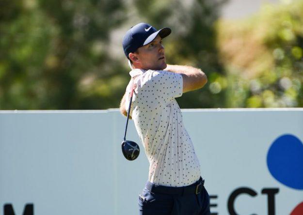 Russell Henley en la tercera ronda en Shadow Creek. © Golffile | Ken Murray