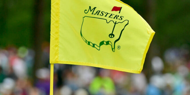 Bandera del Masters © Augusta National GC