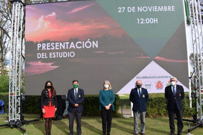 Presentación del Estudio del Impacto Económico del Golf en España 2020.