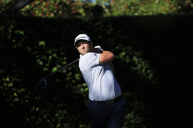 Jon Rahm durante la segunda jornada del Masters de Augusta 2020. © The Masters