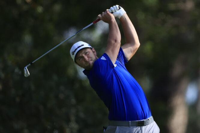 Jon Rahm durante la tercera jornada del Masters de Augusta 2020. © The Masters