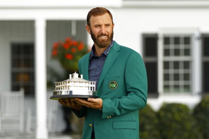 Dustin Johnson, ganador del Masters de Augusta 2020. © The Masters