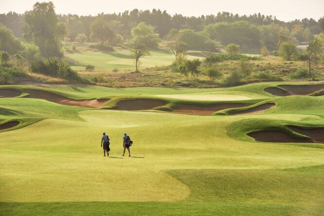 Fire Course del Jumeirah Golf Estates, sede del Golf in Dubai © European Tour