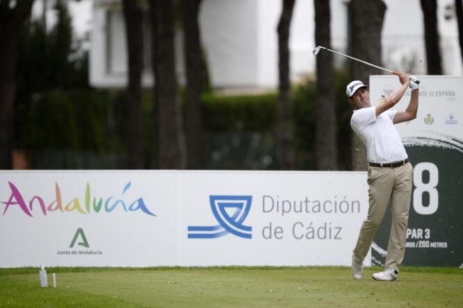 Alfredo García-Heredia en la tercera jornada del Andalucía Challenge de Cádiz. © Octavio Passos/Getty Images