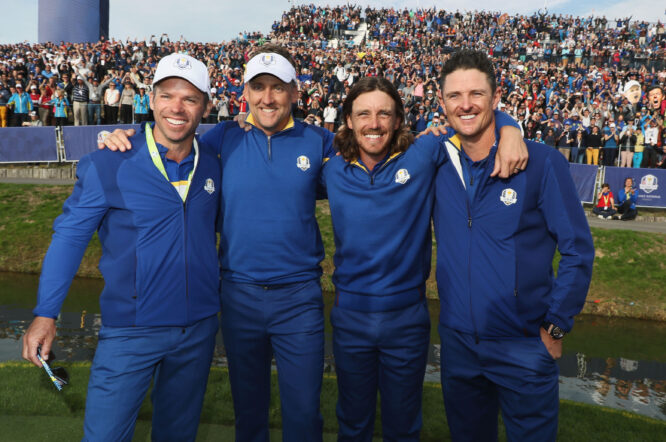 European Ryder Cup stars © Getty Images