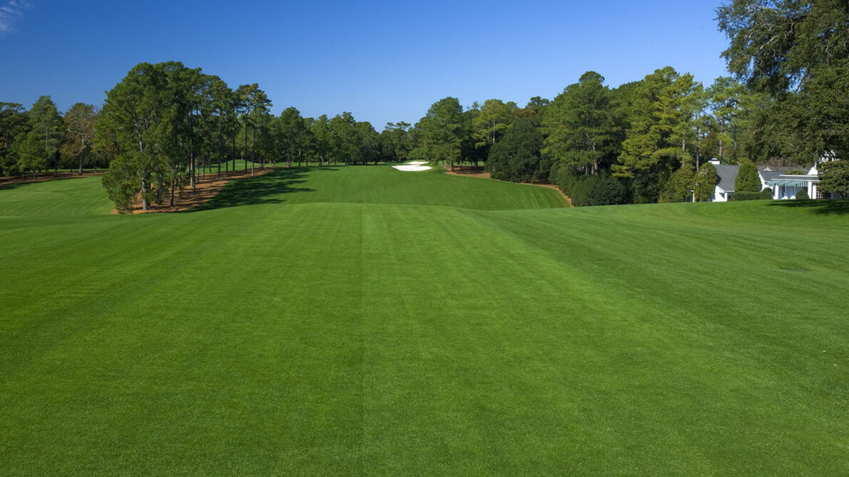 Hoyo 1 del Augusta National. © The Masters