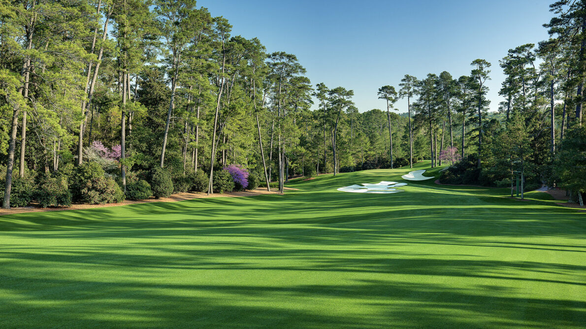 Hoyo 10 del Augusta National. © The Masters