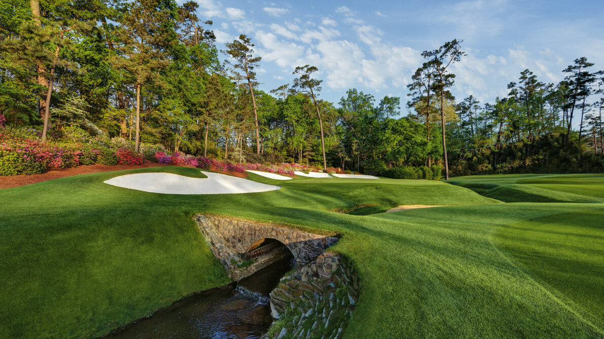 Hoyo 13 del Augusta National. © The Masters