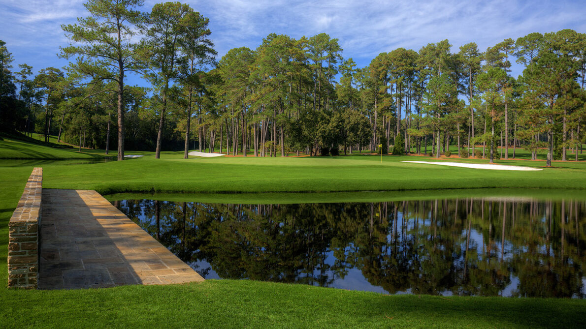 Hoyo 15 del Augusta National. © The Masters