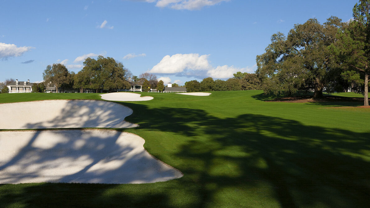 Hoyo 18 del Augusta National. © The Masters
