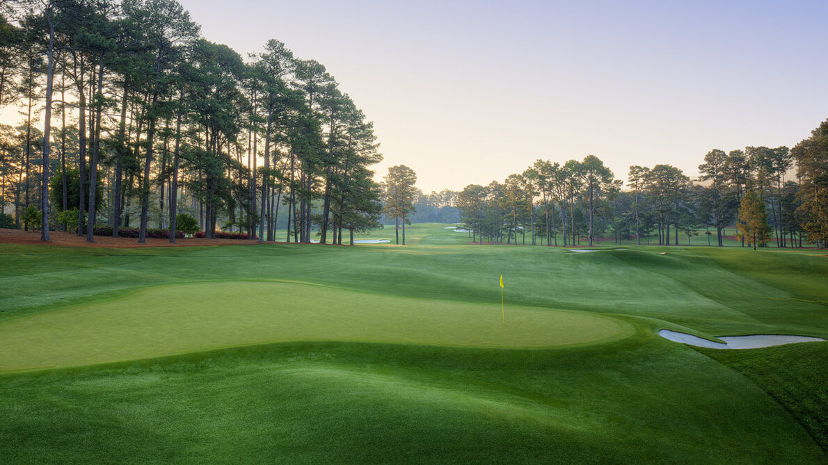 Hoyo 3 del Augusta National. © The Masters