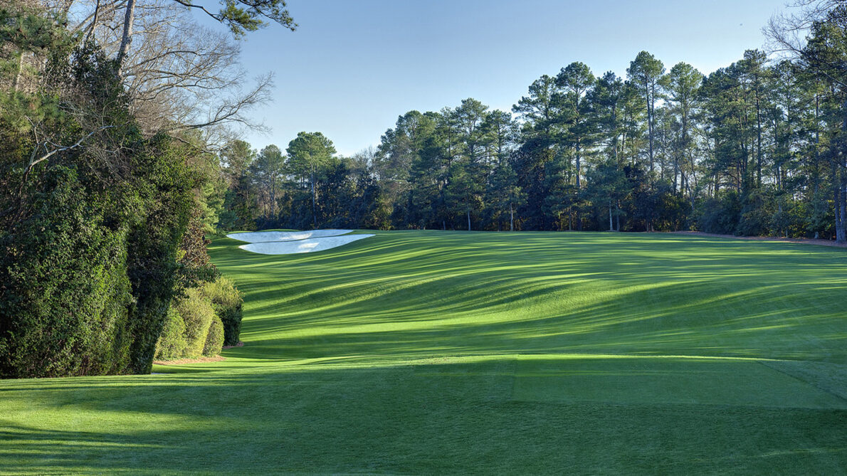 Hoyo 5 del Augusta National. © The Masters
