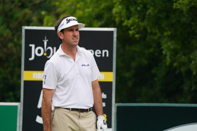 Gonzalo Fernández Castaño durante la segunda jornada del Joburg Open. © Golffile | Thos Caffrey
