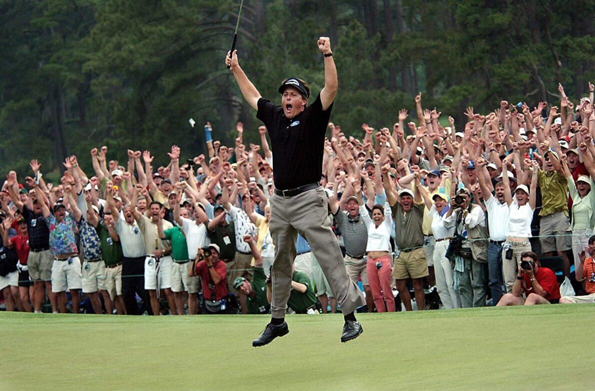 Phil Mickelson en el Masters de Augusta 2004.