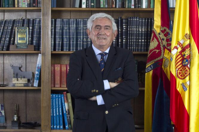 Gonzaga Escauriaza, Presidente de la Real Federación Española de Golf.