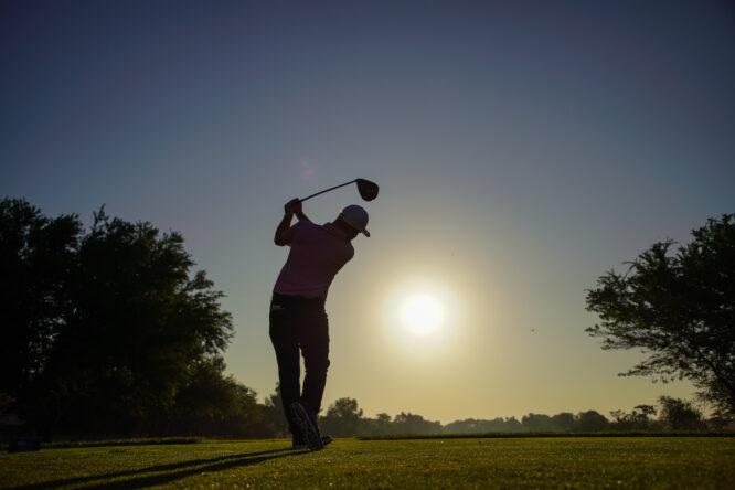Andy Sullivan, líder tras el turno de mañana © Golffile | Fran Caffrey