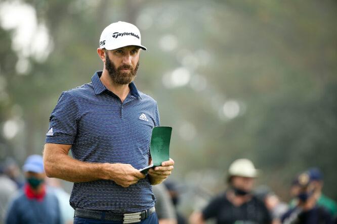 Dustin Johnson. © Golffile | Scott Halleran