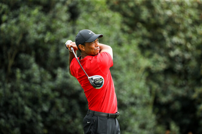 Tiger Woods, en el Masters 2020 © Golffile   Scott Halleran
