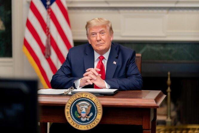 Donald Trump, presidente de Estados Unidos © The White House