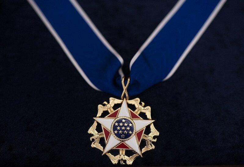 Medalla Presidencial de la Libertad de Estados Unidos © The White House