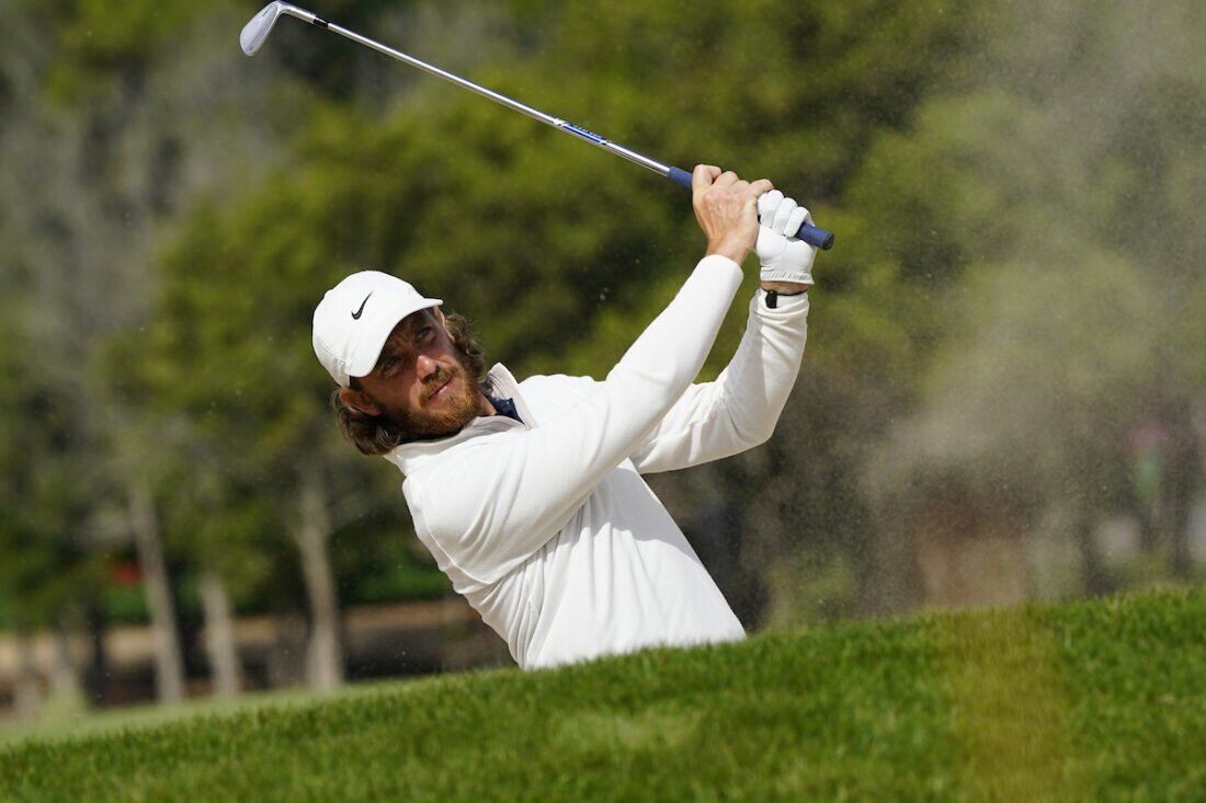 Tommy Fleetwood en la segunda ronda del Abu Dhabi HSBC Championship. © Golffile | Eoin Clarke