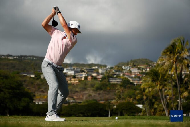 Peter Malnati, en la ronda de ayer © PGA Tour / Cliff Hawkins/Getty Images