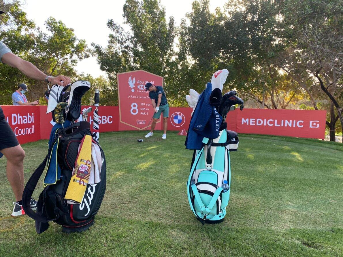 Justin Rose ha jugado la ronda de prácticas junto a Rafa Cabrera Bello. © Ten Golf