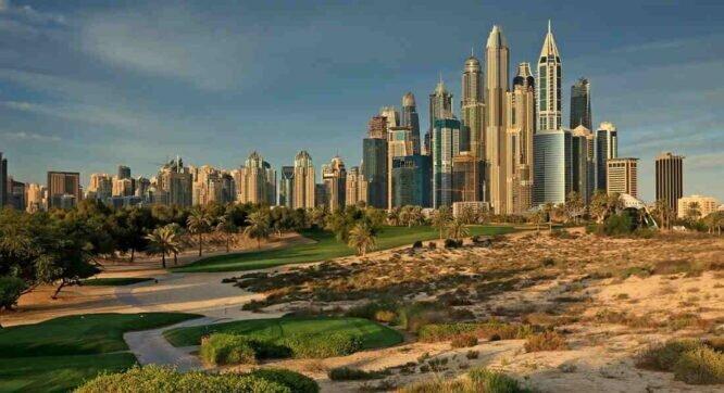 Majlis course del Emirates Golf Club.