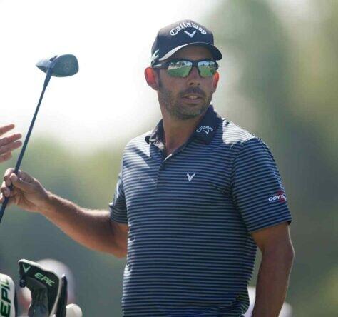 Pablo Larrazábal en la ronda del jueves del Omega Dubai Desert Classic. © Golffile   Oisín Keniry