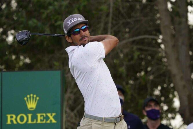 Rafa Cabrera Bello la semana pasada en el Abu Dhabi Golf Club. © Golffile   Eoin Clarke