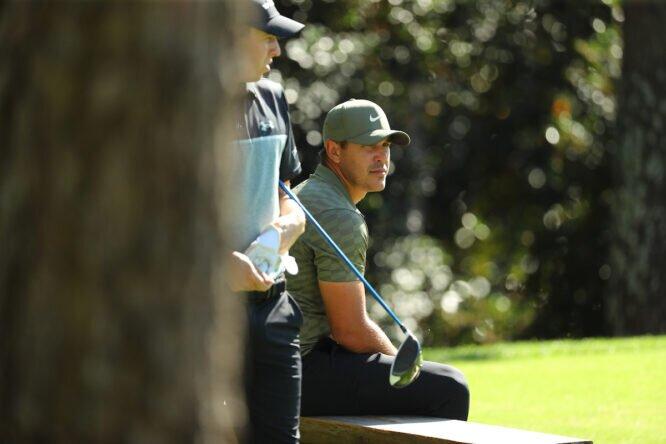 Brooks Koepka, en el The Masters © Golffile | Scott Halleran