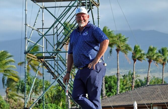 Darren Clarke © PGA Tour Champions