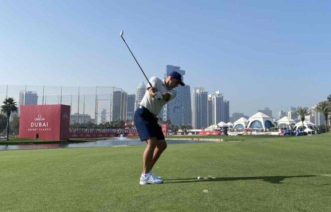 Sergio García en el Emirates Golf Club. © Ten Golf