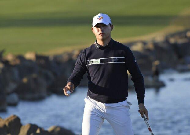 Si Woo Kim, en el American Express © Getty Images   PGA Tour