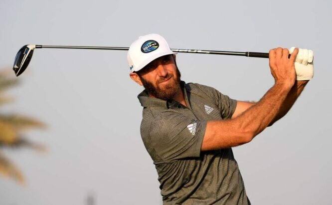 Dustin Johnson. © Getty Images