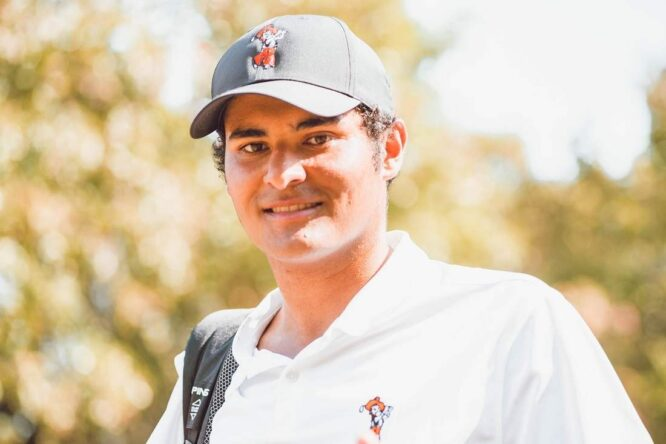 Eugenio López-Chacarra. © Twitter Oklahoma State