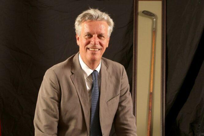 Ignacio Guerras, presidente de la Federación de Golf de Madrid.