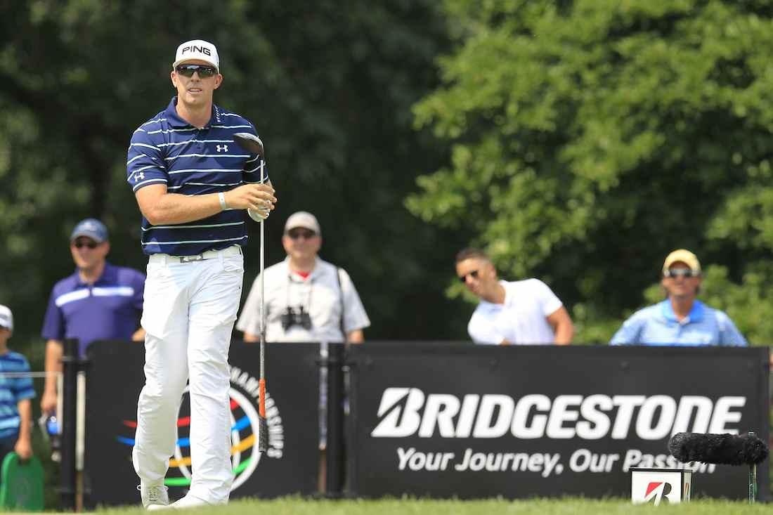 Hunter Mahan en el WGC Bridgestone Invitational de 2014. © Golffile