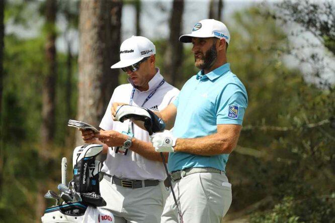 Dustin Johnson esta semana en el The Concession Golf Club. © Golffile | Scott Halleran